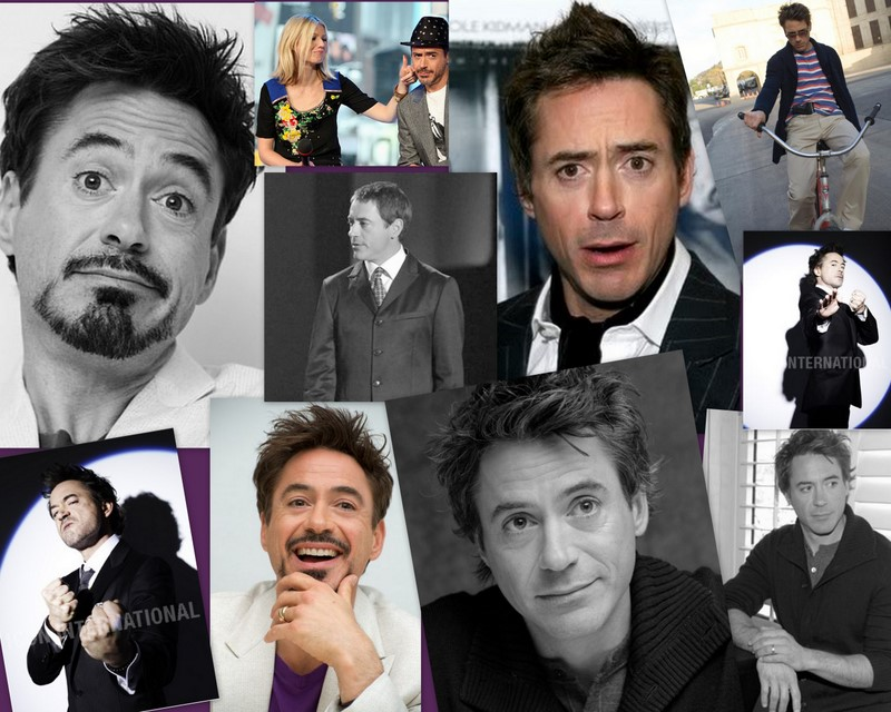 Robert Downey jr. again by snakecat