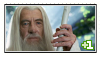 Gandalf Stamp by EnneGin