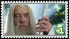 Gandalf Stamp by EnneGin