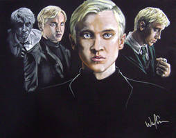 HP: HBP Tom Felton as Draco by WolfenM