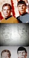 ST: TOS - Kirk + Spock WIP