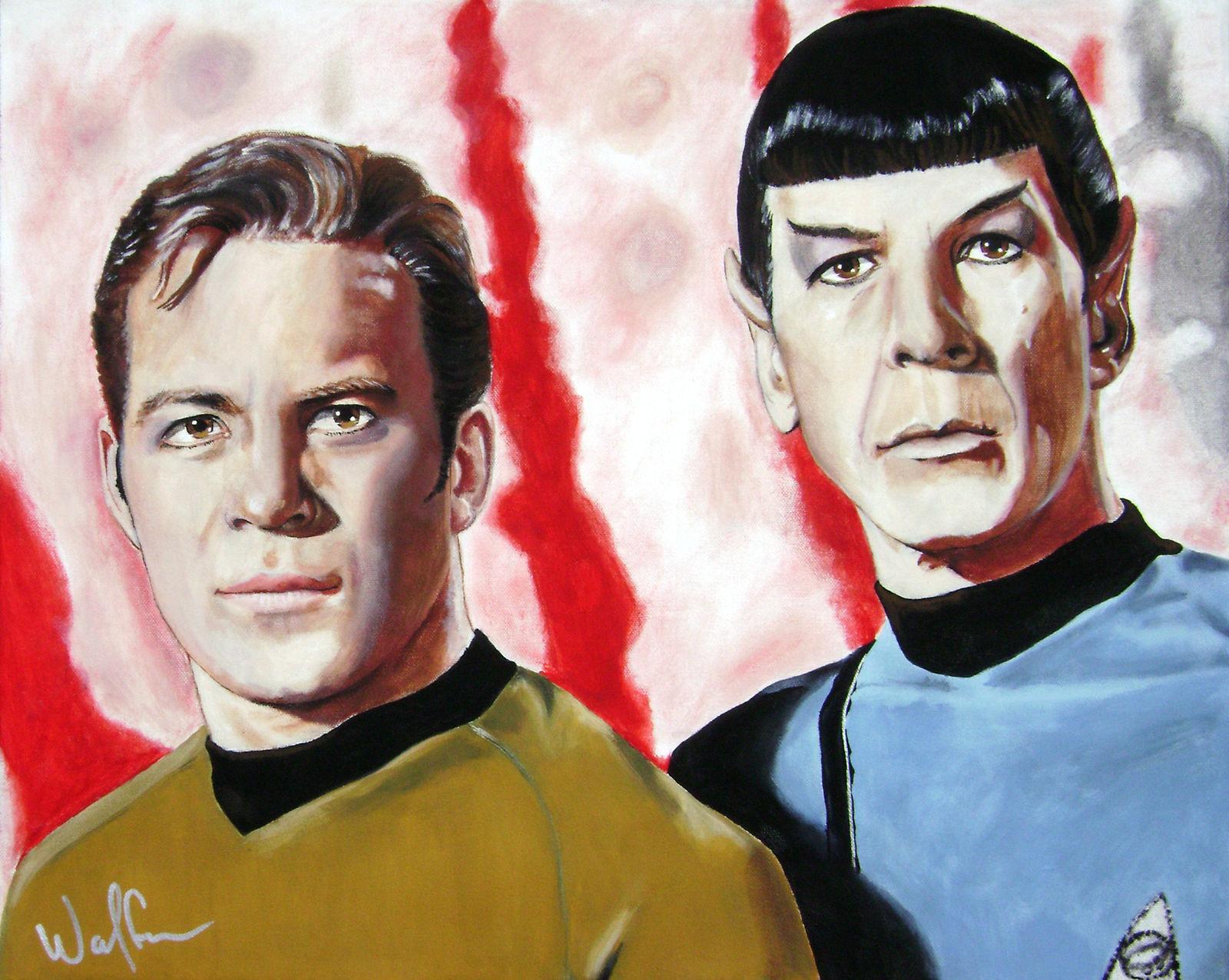 ST: TOS - Kirk + Spock