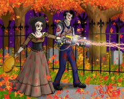 GB: Ed+Ky Sweeney Todd Samhain by WolfenM