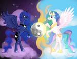 MLP: Luna and Celestia
