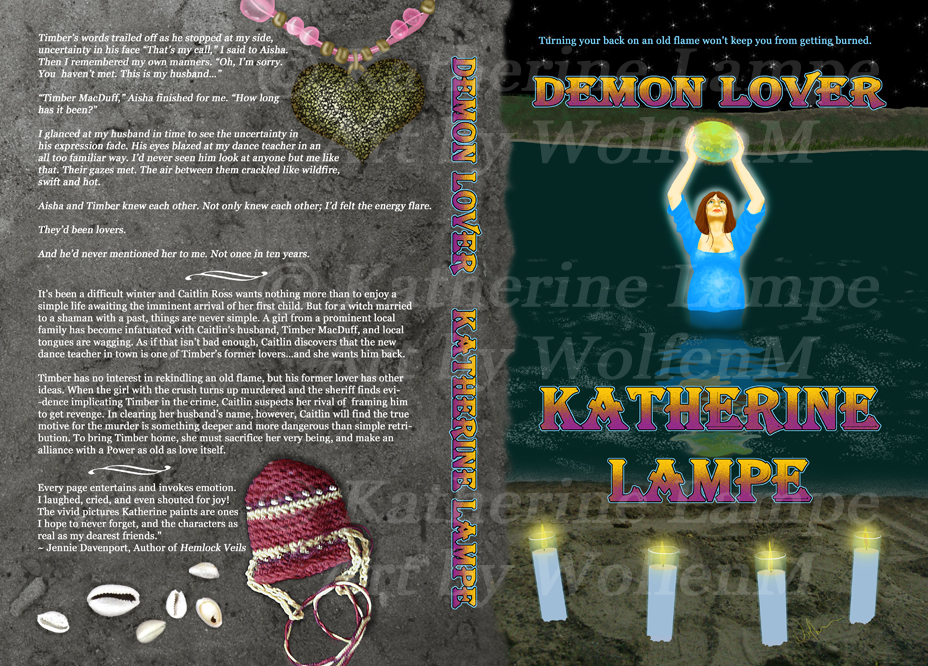Caitlin Ross: Demon Lover by WolfenM