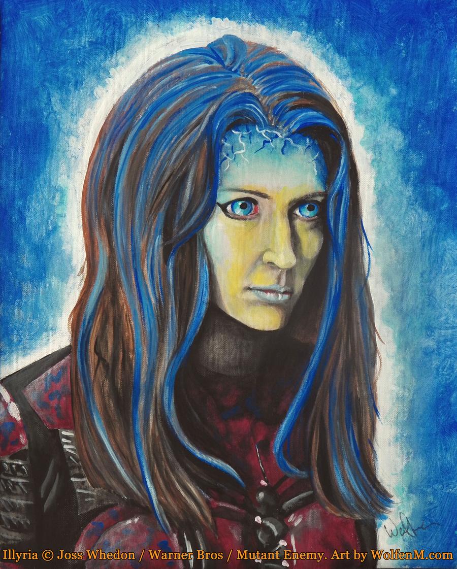 Whedonverse: Illyria By WolfenM On DeviantArt