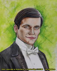 Downton Abbey: Thomas Barrow by WolfenM