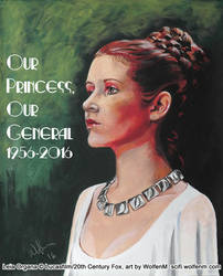 Star Wars: Leia Organa - Our Princess, Our General by WolfenM