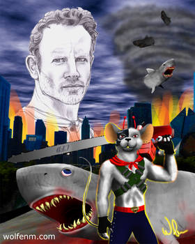 Ian Ziering: A Biker Mouse vs Sharks