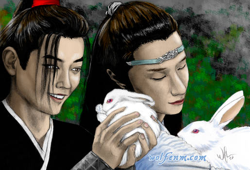 The Untamed: Wangxian With Bunnies