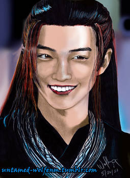 The Untamed: Wei Wuxian's Smile - Colour