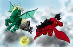 MLP: Quidditch: Harry vs Draco