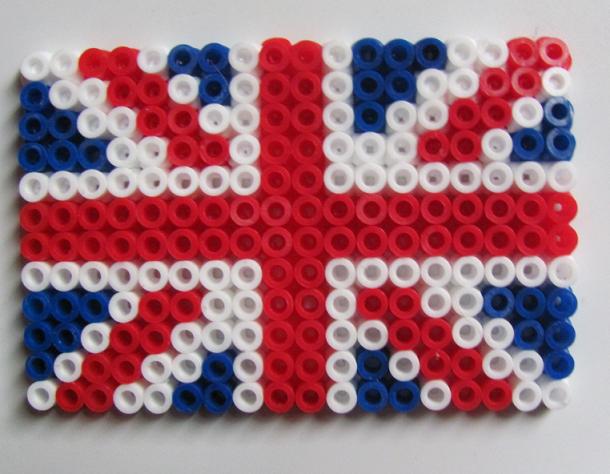 hama beads turkey flag
