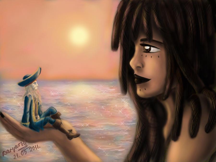 Davy Jones and Calypso by 247950