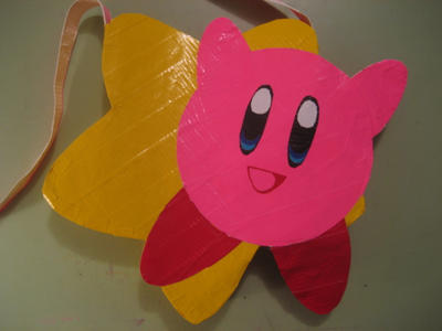 Kirby Duct Tape Bag by oinkboinky
