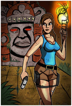 Tomb Raider and the Legends of the Hidden Temple