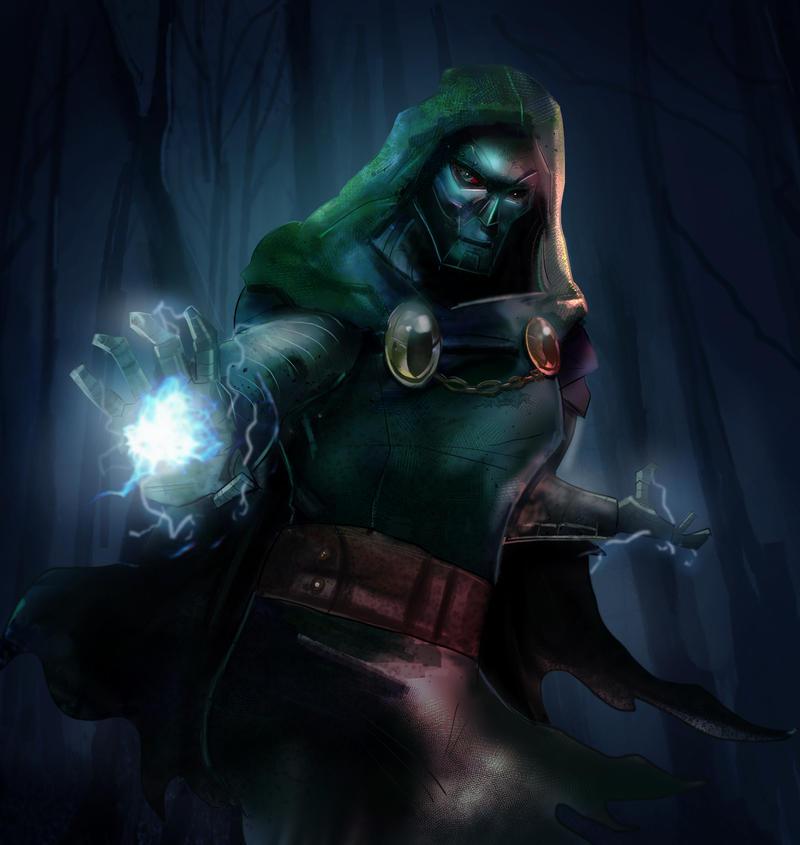 Doctor Doom| Youtube Speedpaint by Kyber02 on DeviantArt