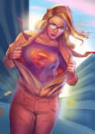 Supergirl: Up, Up and Away