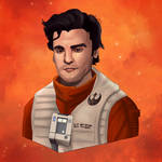 P for Poe Dameron by Kyber02