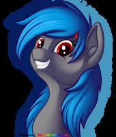 Pony smiling
