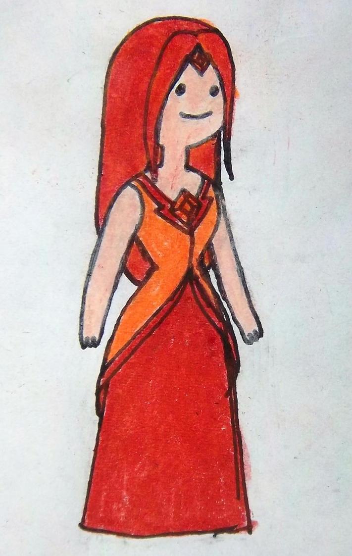 Flame Princess As A Human By Supajames1 On Deviantart