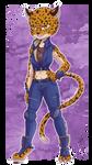 Bloody Roar - Shina The Leopard - Chibi
