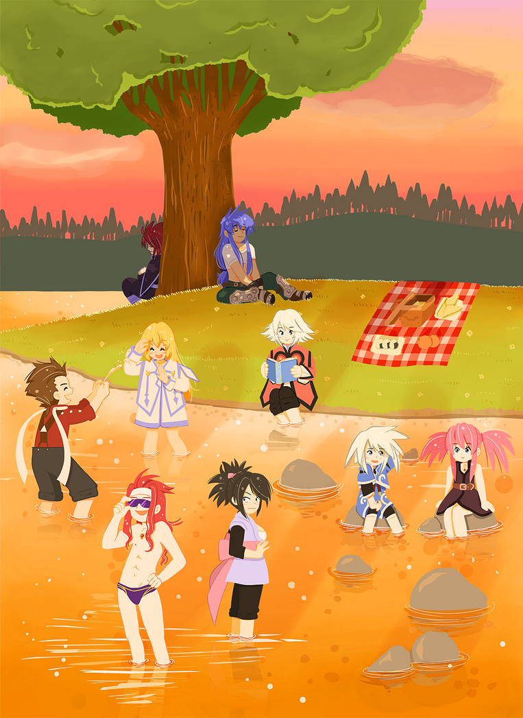 Tales of Symphonia by Arche-JoIyO