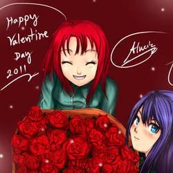 Happy valentine day 2011 by Aluciz