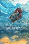 Pet Fish by ghostyheart