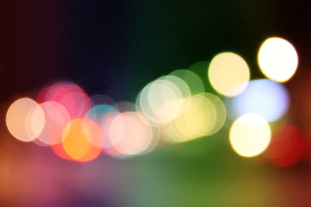 Rainbow Bokeh by PhotoSoof on DeviantArt