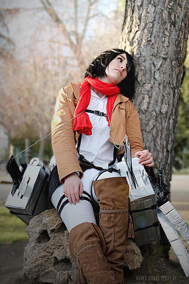 Mikasa Ackerman SNK by PhotoSoof