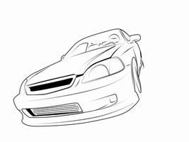 Honda Civic EK by GBoyd