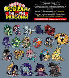 BNHA Dragon Charms! by Foxi-Loxy