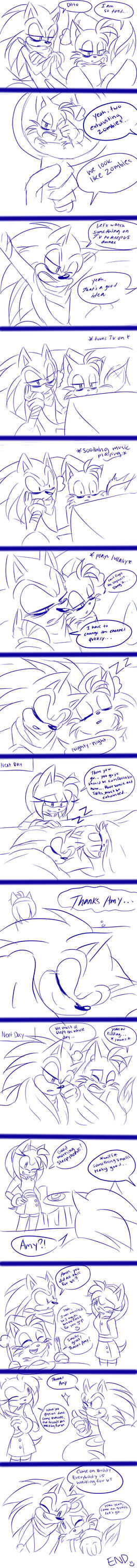 Two Exhausted Zombies comic by RulErofsonic