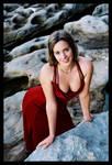 The red dress by Jesi86
