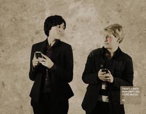 Sherlock BBC - Sexting