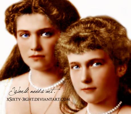 Maria and Anastasia - redo