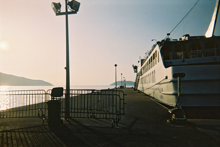 Ferry Terminal at Split Stock by prudentia
