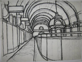 Charcoal QVB by prudentia