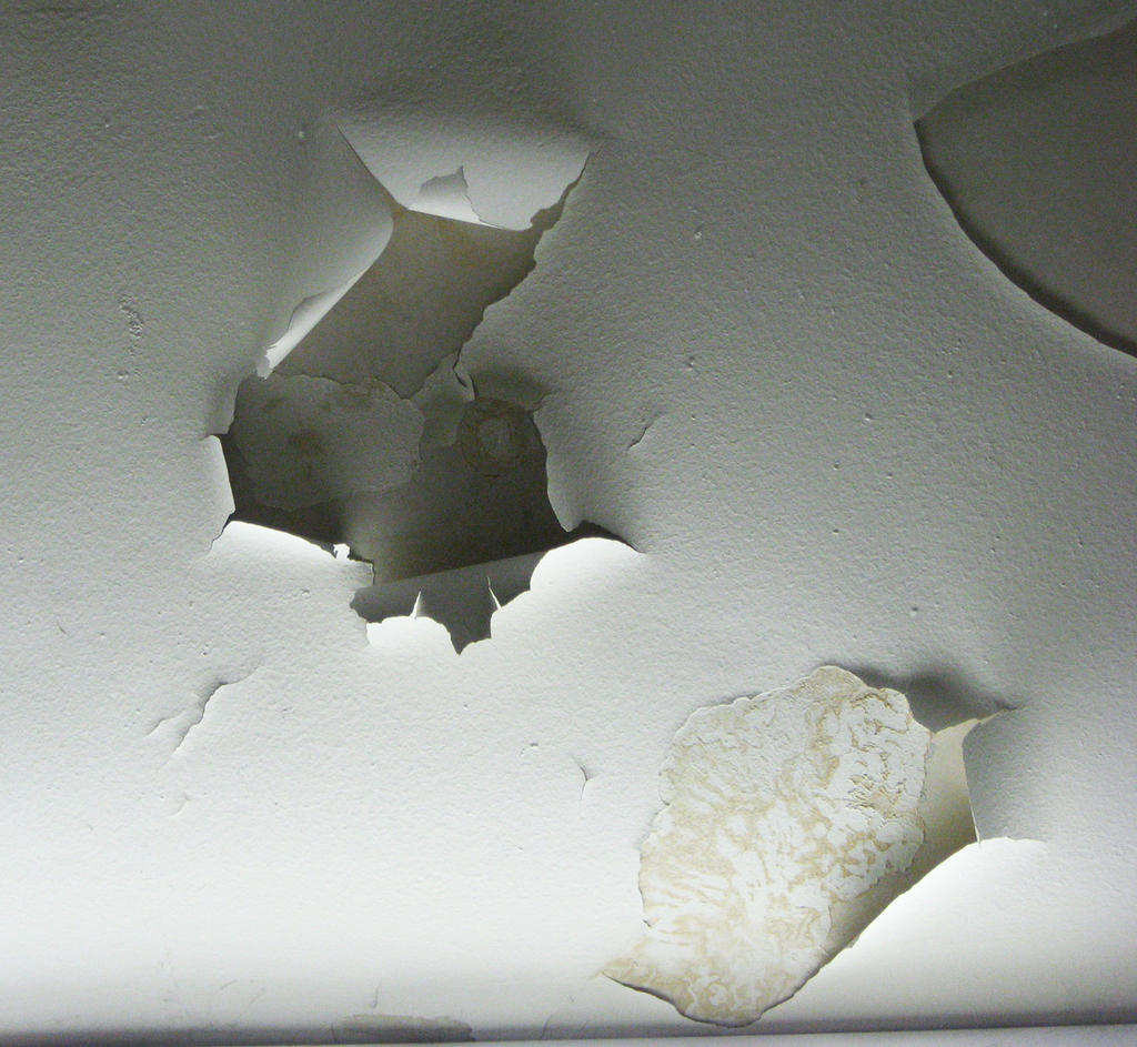 Paint Peeling Ceiling Stock 3 by prudentia
