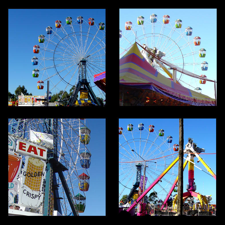 Easter Show Ferris Wheel by prudentia