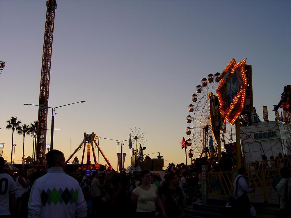 Ferris Wheel at Dusk Again by prudentia