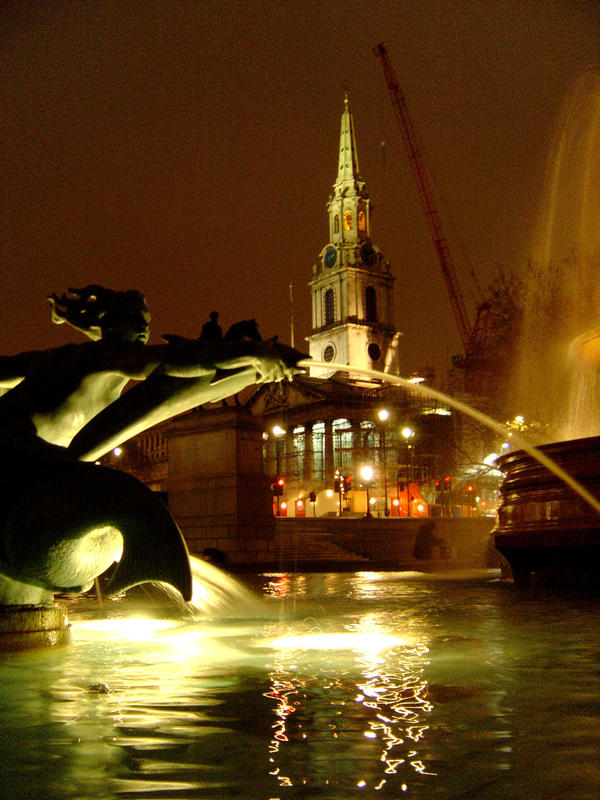Trafalgar Square by prudentia