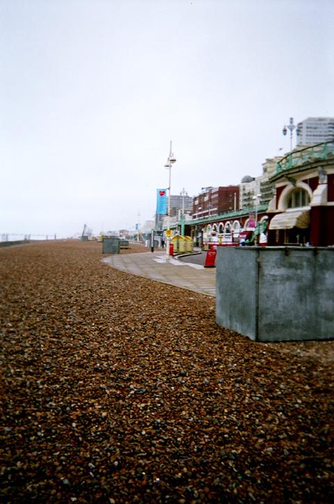 Brighton Beach by prudentia