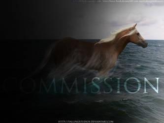 leaving behind the dark - COMMISSION by fallingstudios