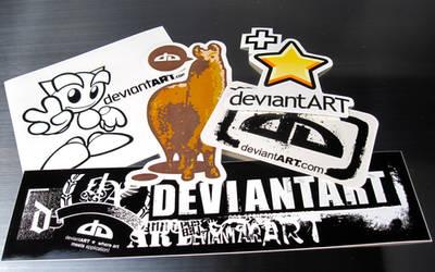 dA Sticker Pack by deviantWEAR