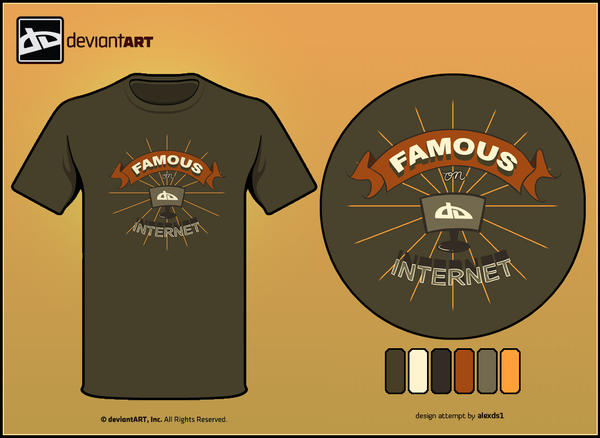 Semi-Finalist: 'Famous' by deviantWEAR