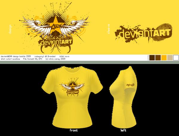 "Semi-Finalist: ""Nova"" by deviantARTGear"