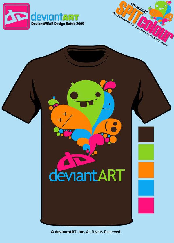 Semi-Finalist: 'SPITcolour' by deviantARTGear
