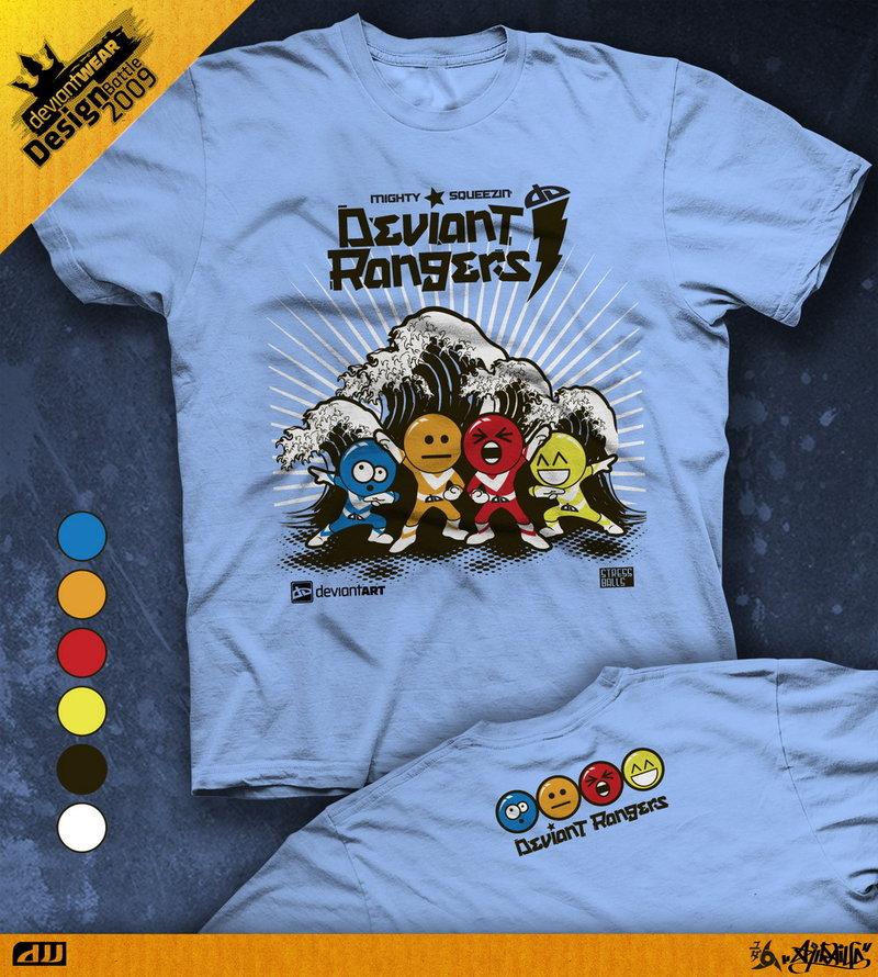 Semi-Finalist: 'DevRangers' by deviantWEAR